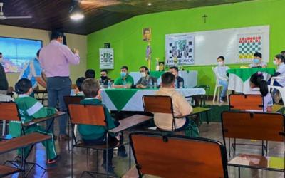 «Club de ajedrez Don Bosco» es oficialmente parte de la «Federación Paraguaya de Ajedrez»